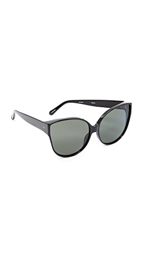 Linda Farrow Luxe Women's Oversized Cat Eye Sunglasses, Black/Grey, One - Linda Farrow Oversized Sunglasses