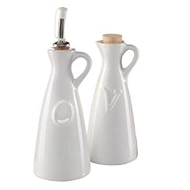 Oil & Vinegar Decanters, 2 PC Set