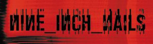 - Licenses Products Nine Inch Nails Red Logo Sticker