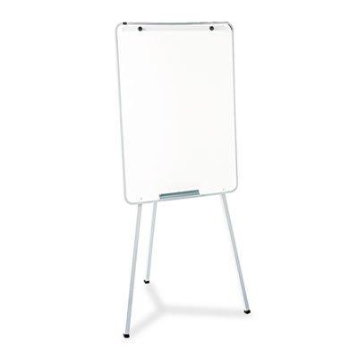 Oval Office Dry Erase Presentation Easel, Melamine, 29 x 40, Gray, Framed, Sold as 1 (Oval Dry Erase Board)