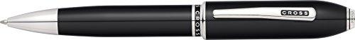 Cross Peerless 125 Ballpoint Pen Obsidian Black Lacquer