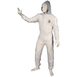 Astro 4562 X-Large Reusable Coverall with Velcro Wrists and Ankles