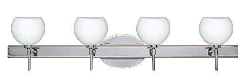 Besa Palla Bathroom Light - Besa Lighting 4SW-565807-LED-CR Palla 5-30.38