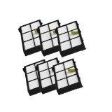 JUMBO FILTER 6pcs Hepa Filter Replacement For irobot Roomba 800 900 Series 805 860 870 871 880 890 960 980 by JUMBO FILTER