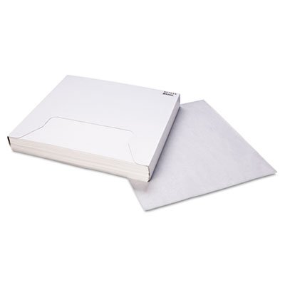 Bagcraft 057015 Grease-Resistant Paper Wrap/Liner 15 x 16 White 1000/Box 3 Boxes/Carton
