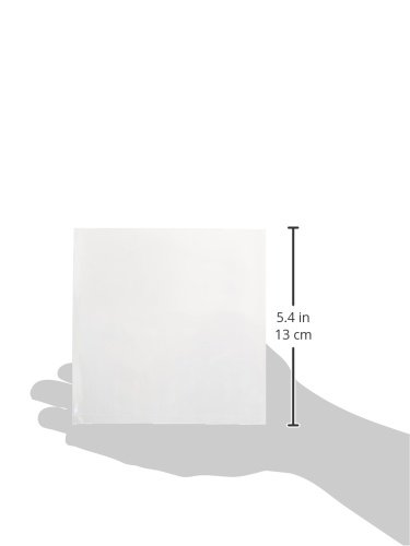 Pack of 1000 RetailSource Ltd 3.75 Height 5.75 Length 5.5 Width RetailSource PB69x1000 5 x 5-1.5 Mil Flat Poly Bags 3.75 Height 5.75 Length 5.5 Width Pack of 1000