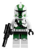(LEGO Star Wars The Clone Wars - Commander Gree Minifigure with Blaster Gun (9491))