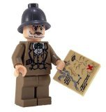 Professor Henry Jones - LEGO Indiana Jones Figure
