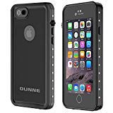 OUNNE iPhone 6/6s Waterproof Case, IP68 Certified with Touch ID Underwater Full Body