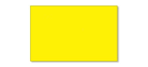 Garvey Products Gx2516 Yellow Blank Labels (2516-09530), 8 Rolls per Sleeve