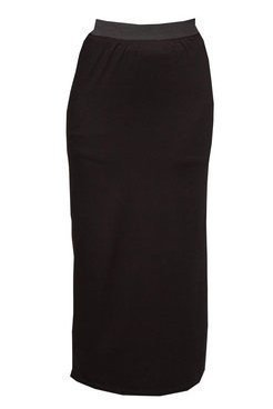 Womens Black Maxi Skirt