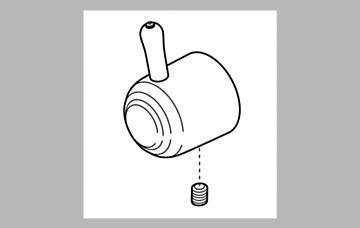 - Delta Faucet RP49264 Innovations Single Metal Lever Handle Kit with Set Screw - Diverter, Chrome