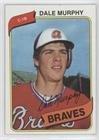 Dale Murphy (Baseball Card) 1980 Topps - [Base] (Murphy Baseball Card)