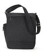 (Joann Marie Designs NMBBL New Messenger Bag - Black Pack of 2 )