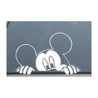 mickey-mouse-disney-peeking-looking-car-window-decal-sticker-sm0008-4l-x-6w