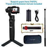 Hohem iStandy Pro 3 axis Gimbal for Gopro Hero 6/5/4/3,SJcam, Yi 4K Or