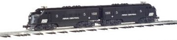 Williams by Bachmann O Scale F-3 Powered and Dummy (A-A) Diesel Locomotive (Penn Central) Aa Diesel Locomotive