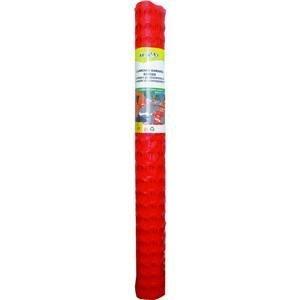 Tenax 2A060006 Guardian Economy Safety Fence, Orange, 4-Feet by 100-Feet