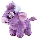Neopets Collector Species Series 4 Plush with Keyquest Code Purple Kau