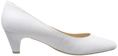 Caprice white Escarpins 102 Cristina Blanc Nappa Femme rIPrqCw