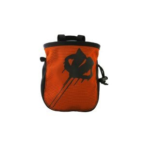 Evolv Roundtangular Chalkbag (Fire), Outdoor Stuffs