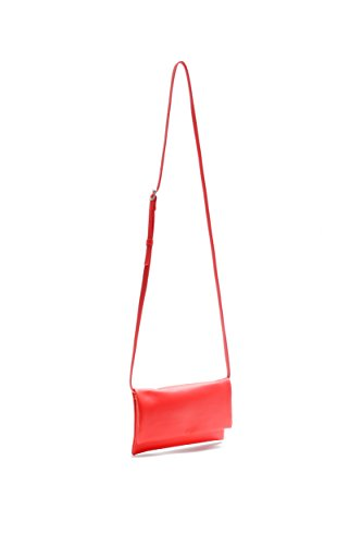 Pretty Nana - Bolso cruzados de Piel para mujer Rojo