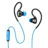 JLab Audio Fit 2.0 Sport Earbuds, Washable/Sweatproof