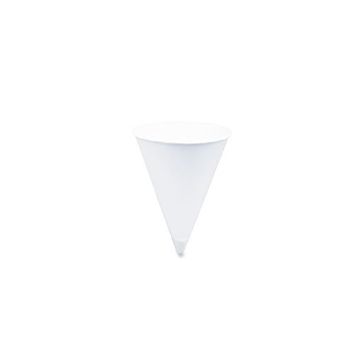 Price comparison product image SOLO Cup Company 2000 Piece Cone Water Cups, Cold, Paper, 4 oz. White