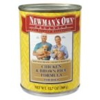 Newman's Own Chicken & Rice Dog Food Can ( 12x12.7 OZ)