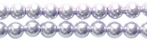 Swarovski 5810 Crystal Round Pearl Beads, 3mm, Lavender, ()