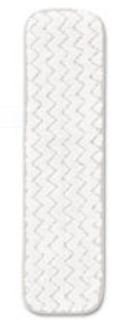- Rubbermaid Commercial Dry Room Pad, Microfiber, 18 Inches Long, White (Q412WH)