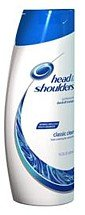 Head and Shoulders shampooing