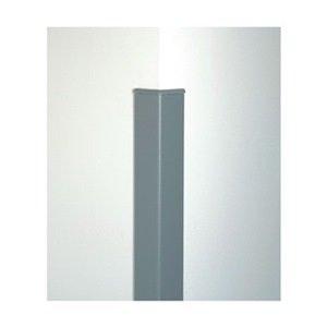Corner Guard, 4 ft, Aluminum, Doeskin