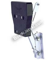 Garelick/Eez-In 71040:01 Aluminum Auxiliary Motor Bracket for 2-Stroke Motors - To 8 HP Motor (Auxiliary Brackets Stroke Motor)