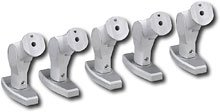 Init Home Theater Speaker Mounts 5 Pack Silver