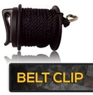 product image for High Point Products Gear Lift Cord for Tree Stand, 25 Feet of Nylon Cord Clips Easily onto Belt, Fanny Pack, or Belt Bag; Hauls Hunting and Archery Gear, Gun and Bow Easily into Tree Stand