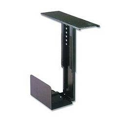 Ziotek Under Desk Sliding And Rotating Standard CPU Holder Computer Mount, CS-11, Fits Up To 9 1/4 Inch x 21 Inch Cases