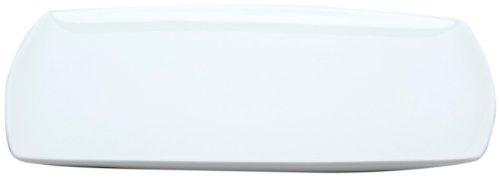 Red Vanilla Vanilla Fare 12-inch Rectangular Platter (Rectangular Cake Platter Red)
