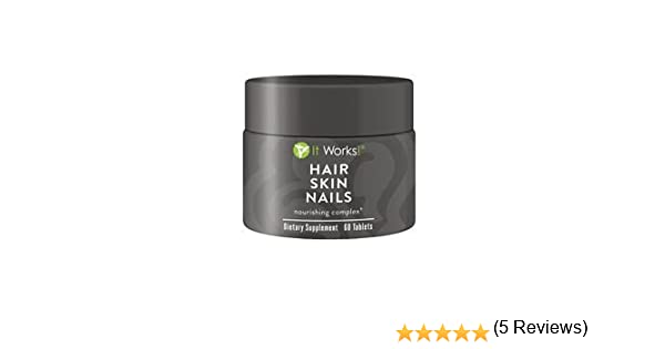 Hair Skin Nails Supplements Amazonca Home Kitchen