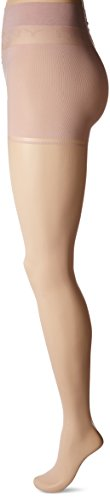 DKNY Women's Sheer Tight Control Top Essential Ease Technology, Shell, Small