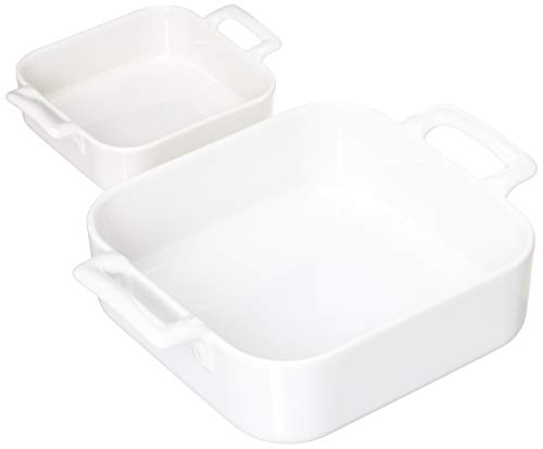 REVOL SET02BC001 Set of 2 Baking Dishes, As As written in product description, White
