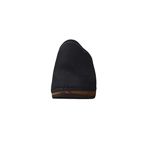 Noir Pour Woody Femme Mules Noir Eu 38 q18xpwC8