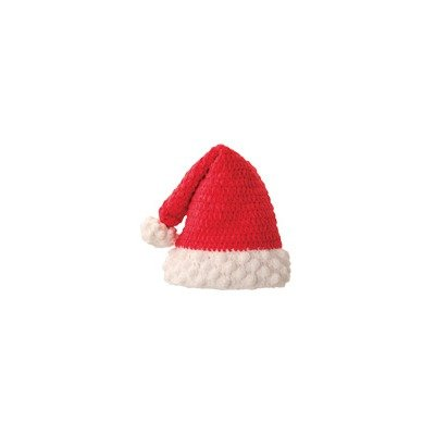 San Diego Hat Company Chenille Santa Hat Red, 1-2 Years