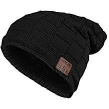 BestFire Bluetooth Beanie Hat Warm Knit Winter Hat Cap with Wireless Headphone Earphone Headset Speaker Mic, Hands Free for Men Women Outdoor Sports Skiing Snowboard Skating Hiking
