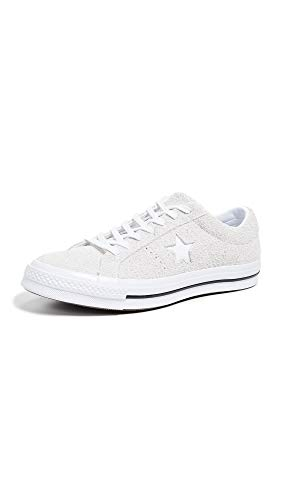 Converse Men's One Star Low Top Sneakers, White, 12 M US Converse One Star Suede