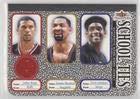 Jalen Rose; Juwan Howard; Chris Webber (Basketball Card) 2002-03 Fleer Tradition - School Ties - Memorabilia #8ST.1 -