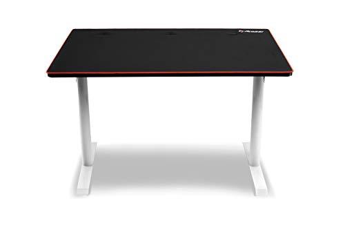 Arozzi Arena Leggero Compact Gaming Desk - White