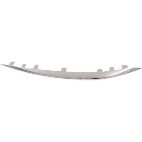 Make Auto Parts Manufacturing - C300 15-16 FRONT BUMPER MOLDING RH, Outer, Upper, Chr, w/o AMG Pkg., and Luxury Pkg., Sedan - MB1047129