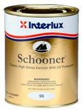 Interlux Y96/QT Schooner Varnish (Quart), 32. Fluid_Ounces