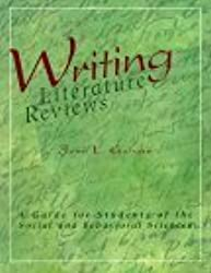 galvan j.l. (1999). writing literature reviews Conducting a thorough literature review: is this the most challenging step   1999 & lecompte, kligner, campbell, & menk, 2003) moreover  constituted a  well-written literature review (boote & beile, 2005 creswell, 2002 & galvan,   complex, in writing more comprehensive literature reviews  galvan, j l (2004 .